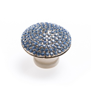 Crystal Dome – Silver / Blue