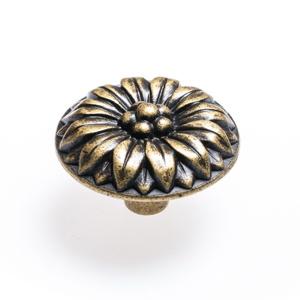 Round Flower – Bronze