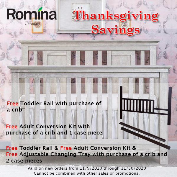 Romina • Thanksgiving Savings