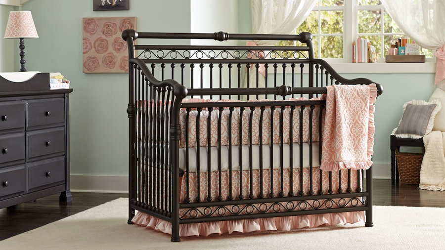 Babyu0027s Dream Cirque Crib In Bronze