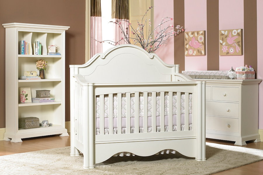 Enchanted Convertible Crib In Vanilla