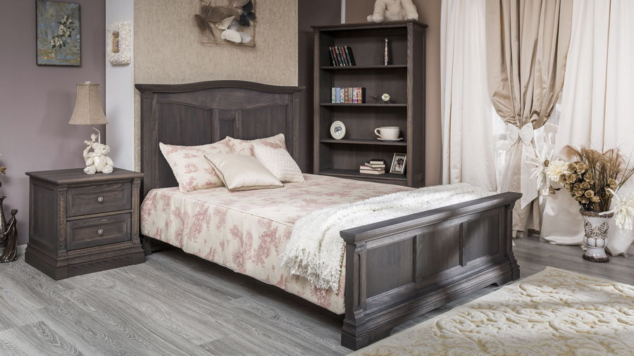 Romina - Imperio Collection with Full Bed in Oil Grey