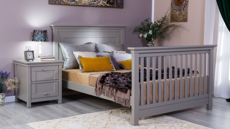 Romina - Karisma Collection with Crib Converted to Bed