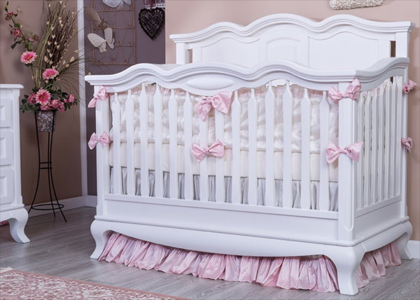 Romina U201cCleopatrau201d Nursery Set In White