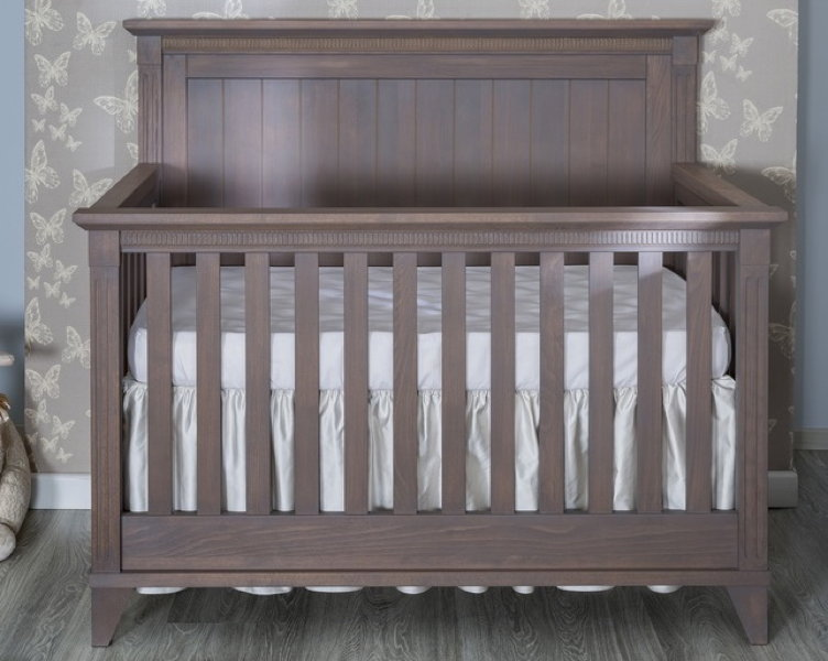 Edison Convertible Crib In Cappuccino