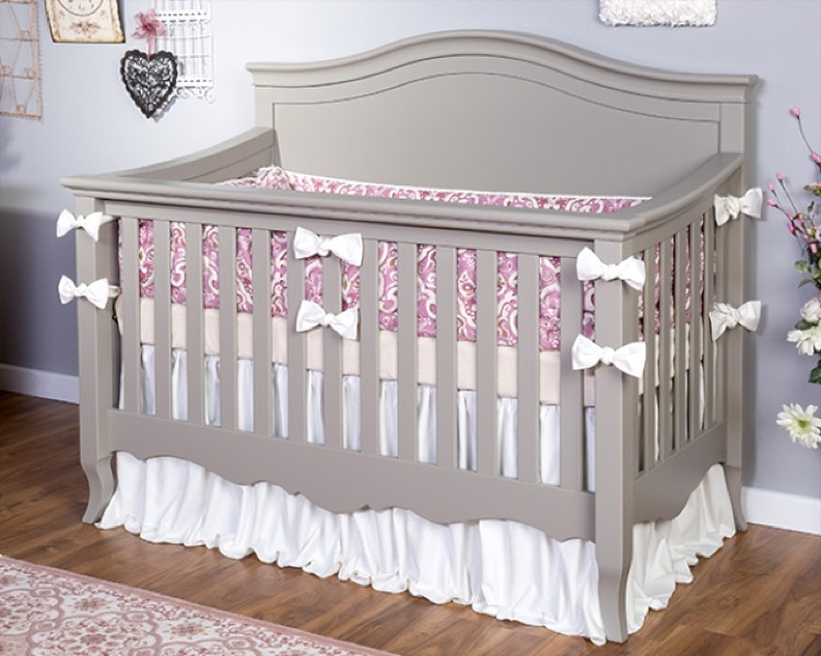 Sophia Convertible Crib In Grey