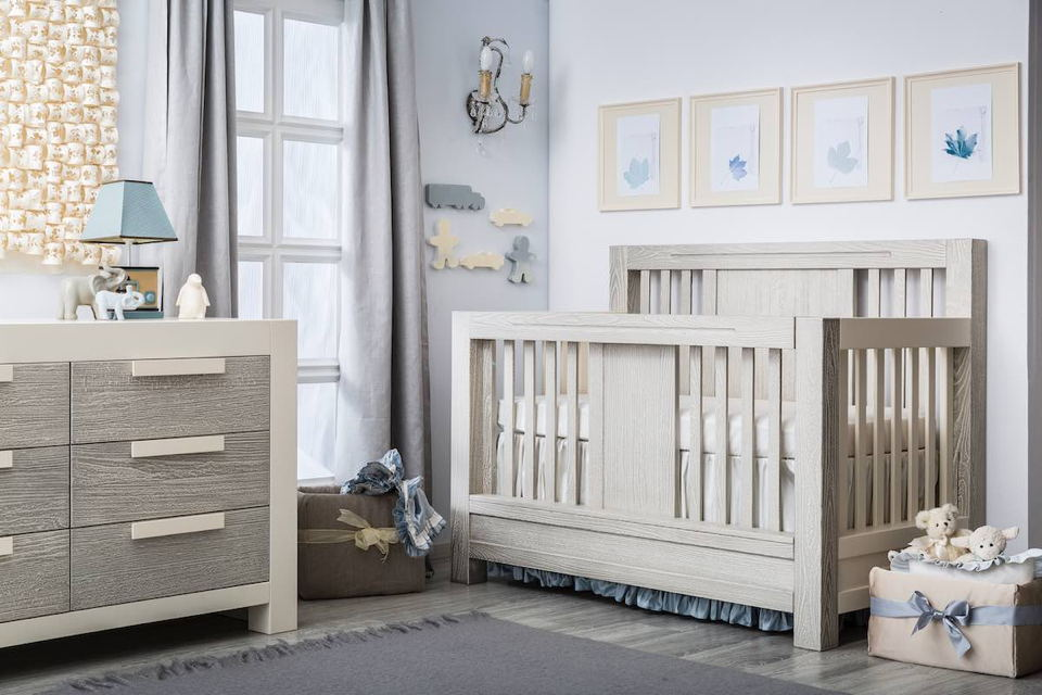 Romina - Ventianni Collection with Convertible Crib