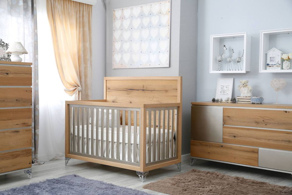 Romina - Pandora Collection with Convertible Crib